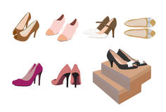 Female High Heels Royalty Free Stock Photography