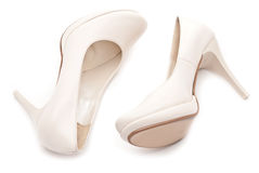 Female high heels shoe Royalty Free Stock Image