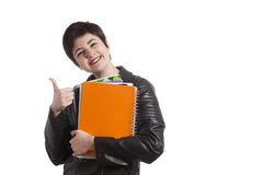 Female high school student Royalty Free Stock Images