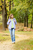 Female hiker Royalty Free Stock Photo
