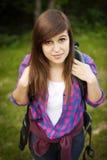 Female hiker Stock Image