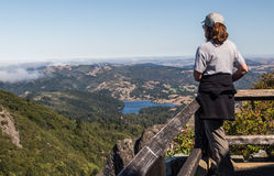 Female Hiker Stock Images