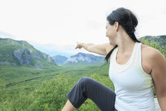 Female hiker Stock Photography
