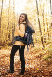 Female hiker Royalty Free Stock Photos