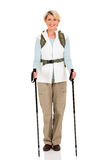 Female hiker standing Stock Photos