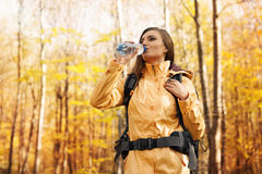 Female hiker Royalty Free Stock Image