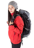 Female With Hiking Attire III Stock Image