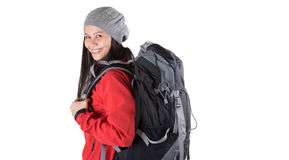 Female With Hiking Attire IV Royalty Free Stock Image