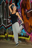 Female hip-hop dancer Royalty Free Stock Photo