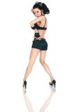 Female hip-hop dancer Royalty Free Stock Image