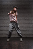 Female hip-hop dancer Stock Image