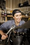 Female Hispanic Mechanic Stock Photos