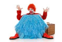 Female holiday clown Royalty Free Stock Photos