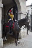 Female Horse Guard Royalty Free Stock Images