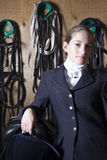 Female Horseback Rider Stock Photography