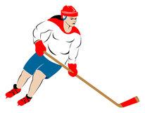 Female Ice Hockey Player Royalty Free Stock Images
