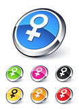Female icon Stock Photo