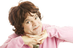 Female Impersonator - Cutie Pie Royalty Free Stock Photography