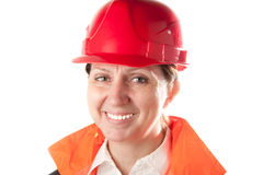Female industrial worker. Stock Images