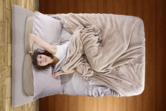 Female Insominac Stock Images