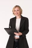 Female inspector #13 Royalty Free Stock Photo