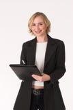 Female inspector #13. Female business women Royalty Free Stock Photo