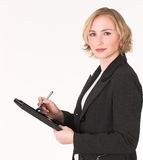 Female inspector #9 Royalty Free Stock Photos