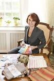 Female interior designer Royalty Free Stock Photo