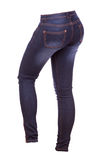 Female jeans trousers Royalty Free Stock Image