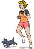 Female Jogger Royalty Free Stock Photography