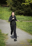 Female jogger Royalty Free Stock Images