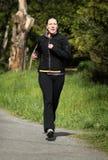 Female jogger Royalty Free Stock Photo