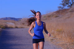 Female Jogger Royalty Free Stock Photo