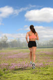 Female Jogger Running Royalty Free Stock Photo