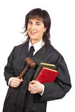 Female judge Royalty Free Stock Photography