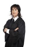Female judge Stock Images