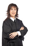 Female judge Stock Photography