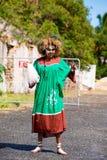 Female Kanak dancer Royalty Free Stock Image