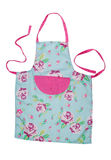 Female kitchen apron Stock Photos