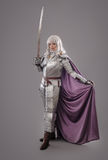 Female Knight In Shining Armour Stock Photos