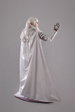 Female Knight In Shining Armour Stock Photo