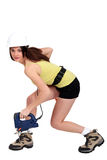 Female laborer Stock Images