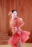 Female latin dancer Royalty Free Stock Photo