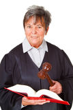 Female lawyer Stock Image