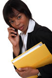 Female lawyer Royalty Free Stock Image