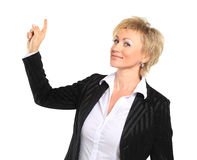 Female lawyer wearing Stock Photography