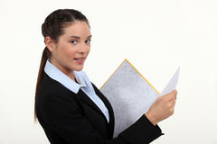 Female lawyer Stock Photography