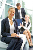Female leader Royalty Free Stock Photos