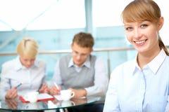Female leader Stock Images
