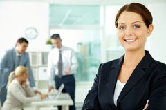 Female leader Royalty Free Stock Photo